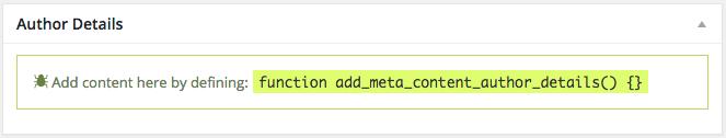 meta box debug